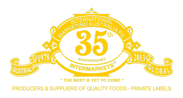 Intermarkets 25th Anniversy Logo